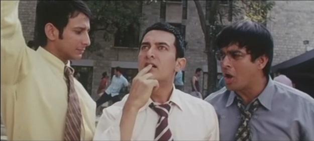 3 Idiots: Raju, Rancho, Farhan