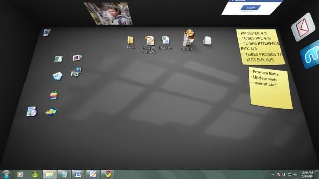 BumpTop Desktop 3D