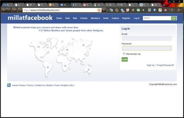 Halaman depan millatfacebook.com