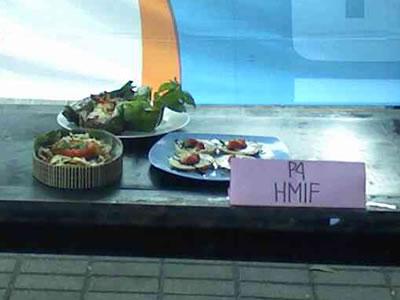 Hidangan dari HMIF