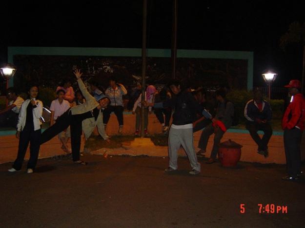 Bersantai di terminal Probolinggo