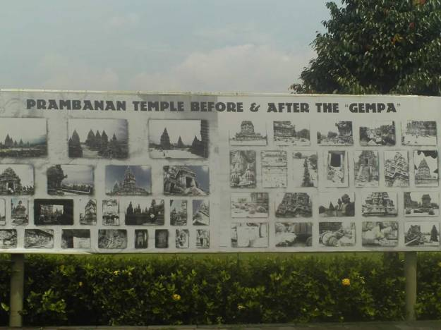Prambanan Before & After Earthquake 2006