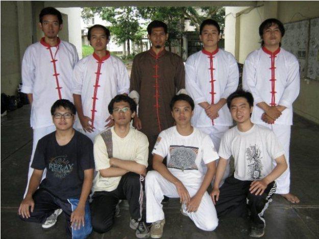 Anggota (unit) Wing Chun ITB dan pelatih
