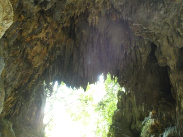 Stalaktit-stalaktit Green Canyon