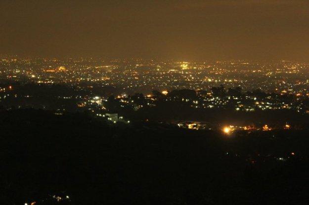 Bandung tampak dari Punclut