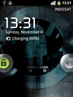 screenshot dalam keadaan locked