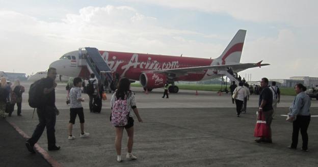 Pesawat menuju Kuala Lumpur