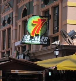Es Teler 77 di Pasar Seni
