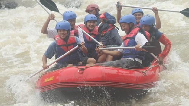 Rafting di Citarik