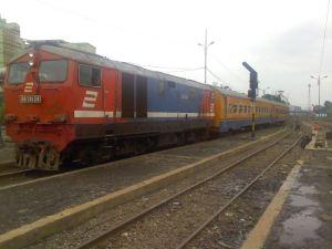 Kereta ekonomi (ilustrasi)