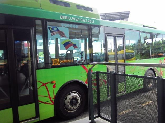 Bus 101 yang kami tumpangi
