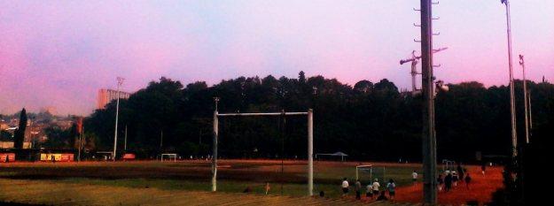 Lapangan SARAGA, tempat favoritku untuk lari