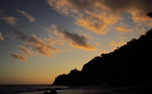 Suasana sunset