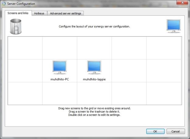 Mengkonfigurasi 'jaringan' komputer-komputer yang digunakan
