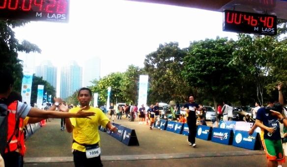 Hore, finish....!