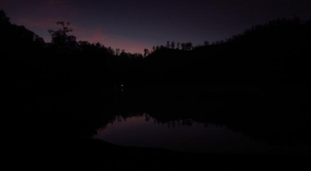 Langit Ranu Kumbolo Pukul 4.30