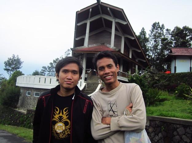 Kamal dan Khairul, depan DPT