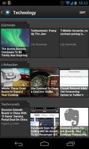Aplikasi Pulse pada Android