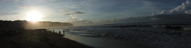 Sunrise di Parangtritis