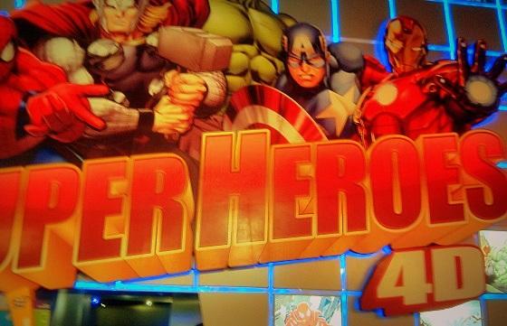Super Heroes 4D