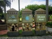 Tugu Esplanade alias Padang Kota Lama