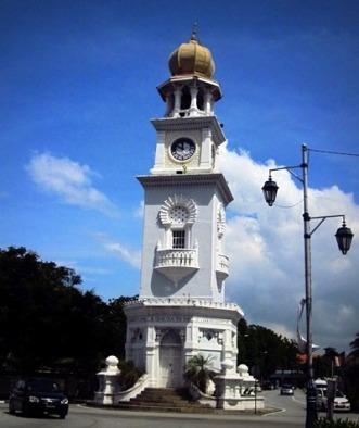 The Queen Victoria Memorial Clock Tower