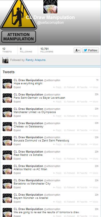 Twit-twit @uefacorruption