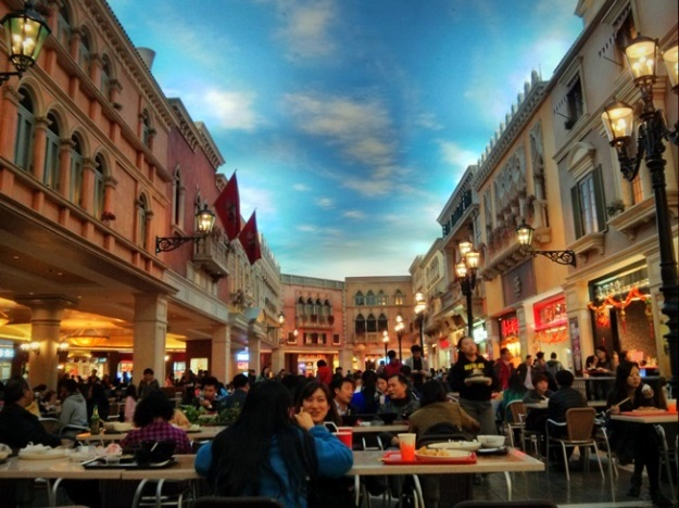 Food court The Venetian