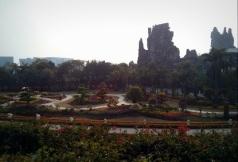 Salah satu taman di Splendid China