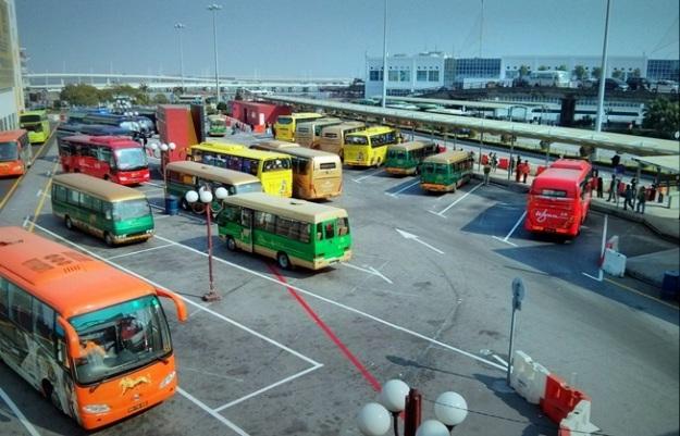 Terminal shuttle bus gratis