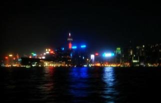 Pemandangan Victoria Harbour