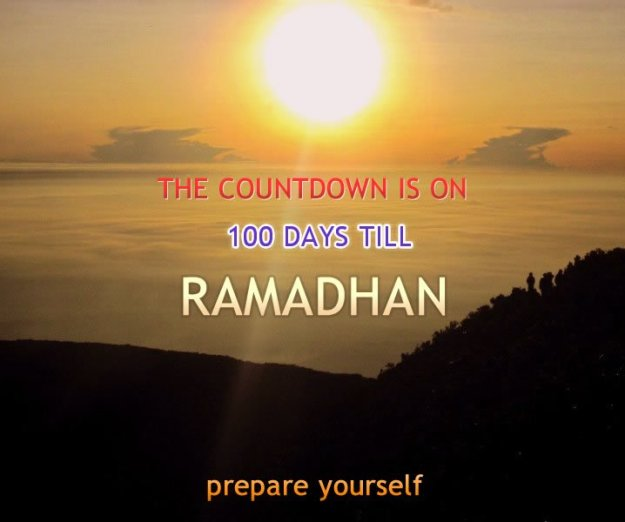 100 days to go Ramadhan