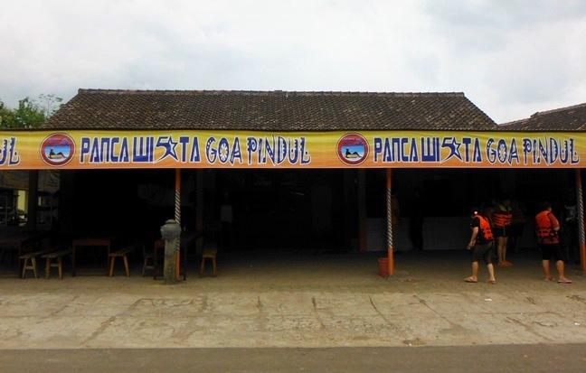 Sekretariat objek wisata Goa Pindul