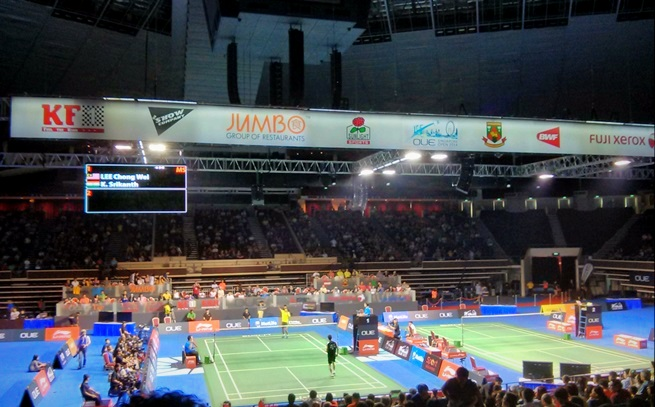 Semifinal Lee Chong Wei vs Srikanth K.