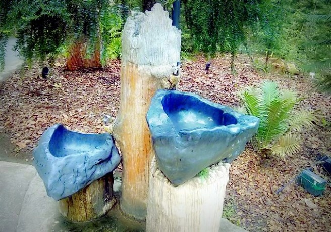Water tap di Evolution Garden
