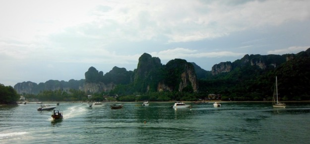 Railay Island di sore hari
