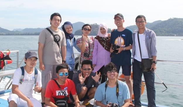 Foto-foto di atas kapal (photo by Putri)