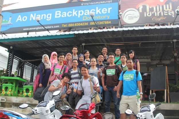 Ao Nang Backpacker Hostel (photo by Putri)