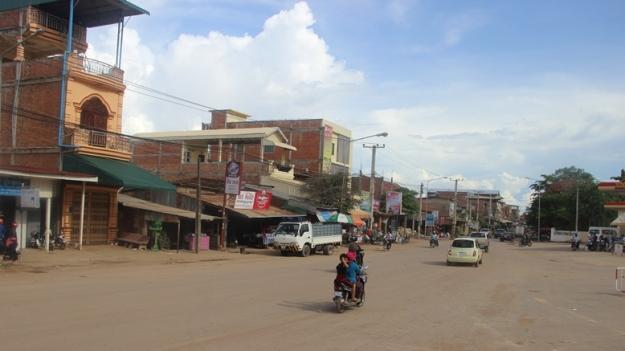 Salah satu sudut kota Siem Reap (photo by Hafidh)