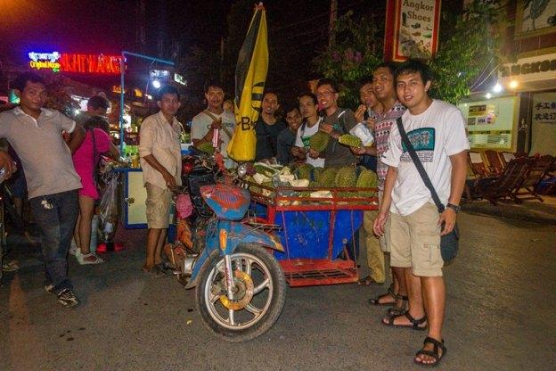 Pesta durian (photo by Ian)