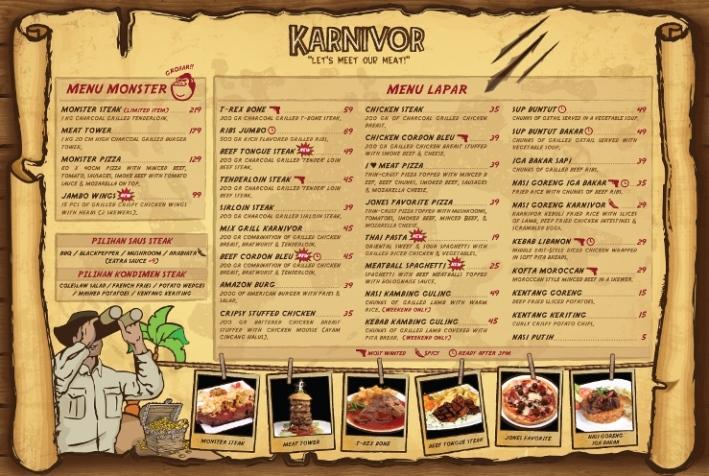 [Kuliner] Karnivor Restaurant (1/6)