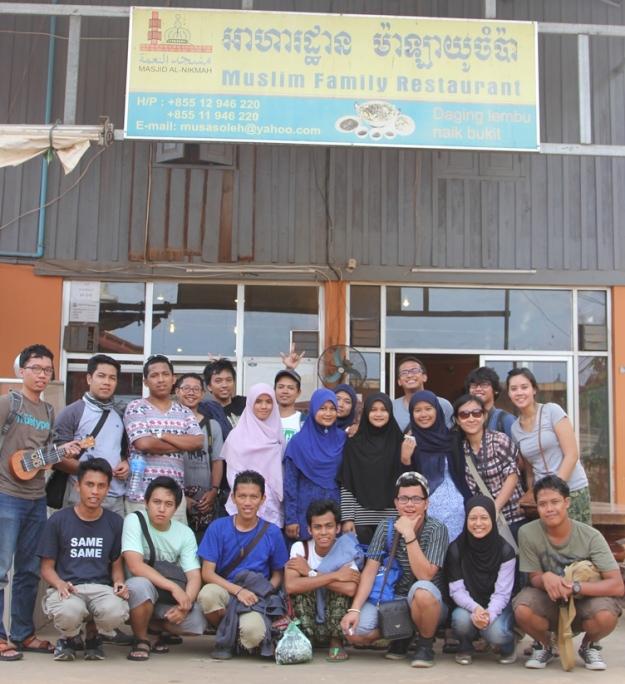 Muslim Family Restaurant (photo by Putri)