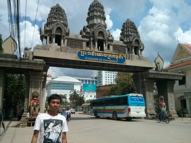 Pambudi di border Kamboja