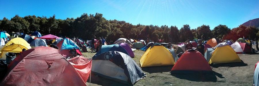 Tenda-tenda di Pondok Salada