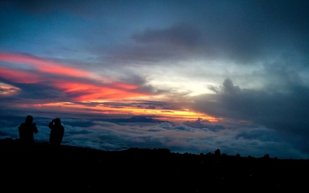 Sunrise di Mahameru