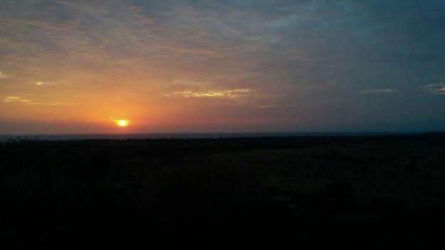 Sunrise di Taman Nasional Baluran