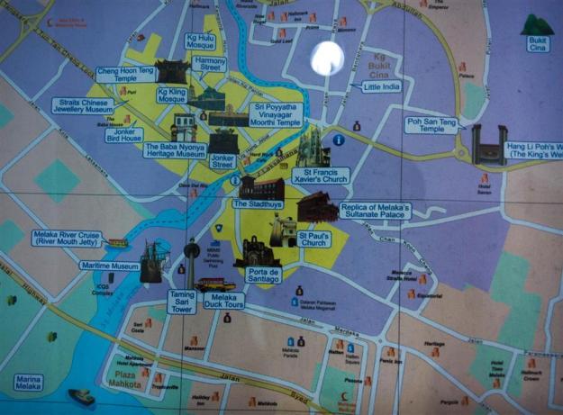 Peta Heritage Trail Melaka