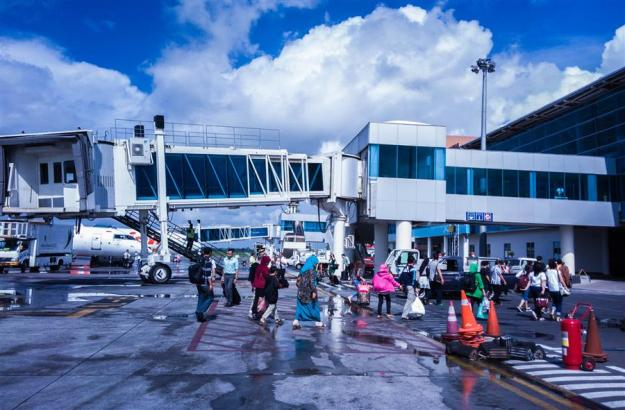 Tiba di Bandara Internasional Lombok