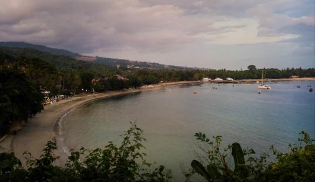 Pemandangan Pantai Senggigi