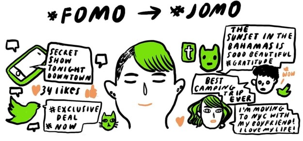 Ubah FOMO jadi JOMO (Joy of Missing Out)
